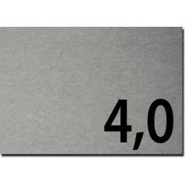 Lavorazioni laser su cartone grigio spessore mm 4,0