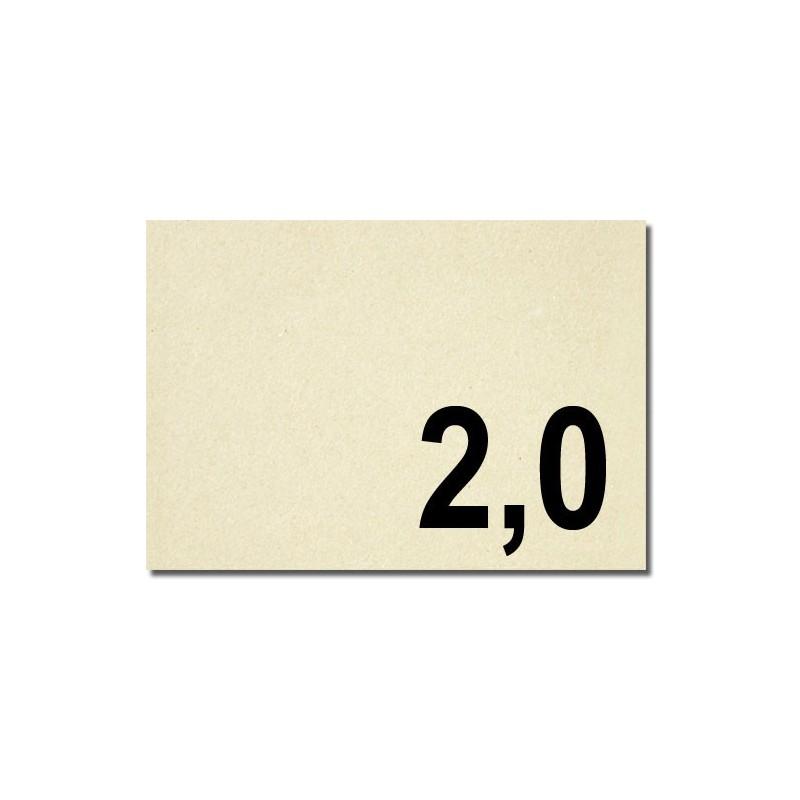 Lavorazioni laser su cartone vegetale spessore mm 2,0
