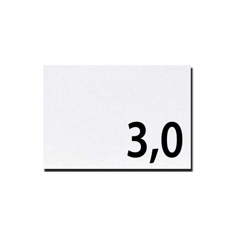 Lavorazioni laser su cartone bilucido spessore mm 3,0