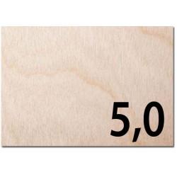 Taglio laser su compensato AVIO spessore mm 5,0