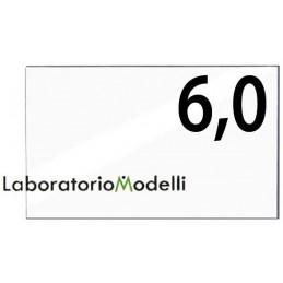 Taglio laser su plexiglass spessore mm 6,0