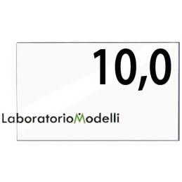 Taglio laser su plexiglass spessore mm 10,0