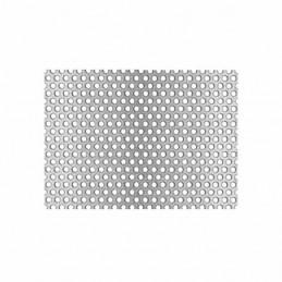 Lamiera di alluminio forata