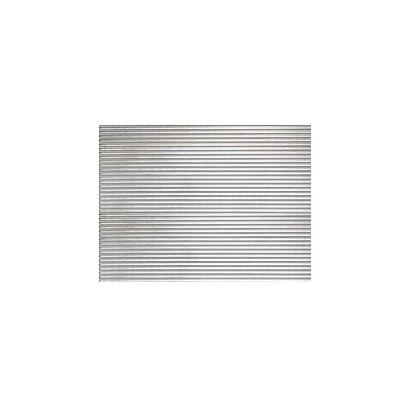 Lamiera di alluminio finemente ondulata
