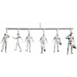 Figurini Preiser bianchi, 1:100