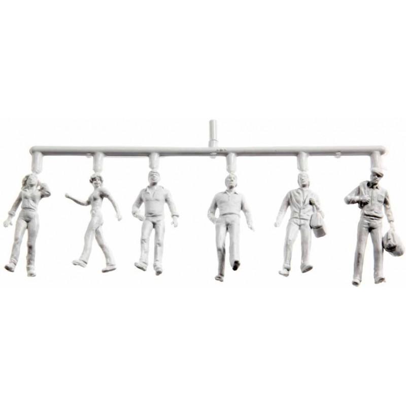 Figurini Preiser bianchi, 1:200