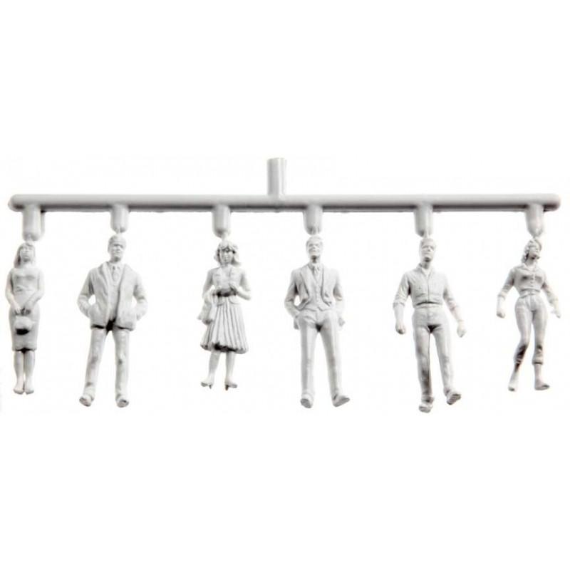 Figurini Preiser bianchi, 1:50