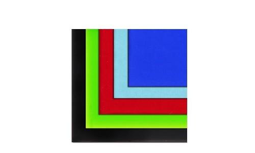 vetro acrilico colorato